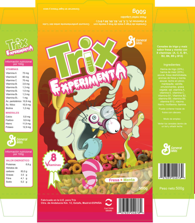 packaging TRIX 1