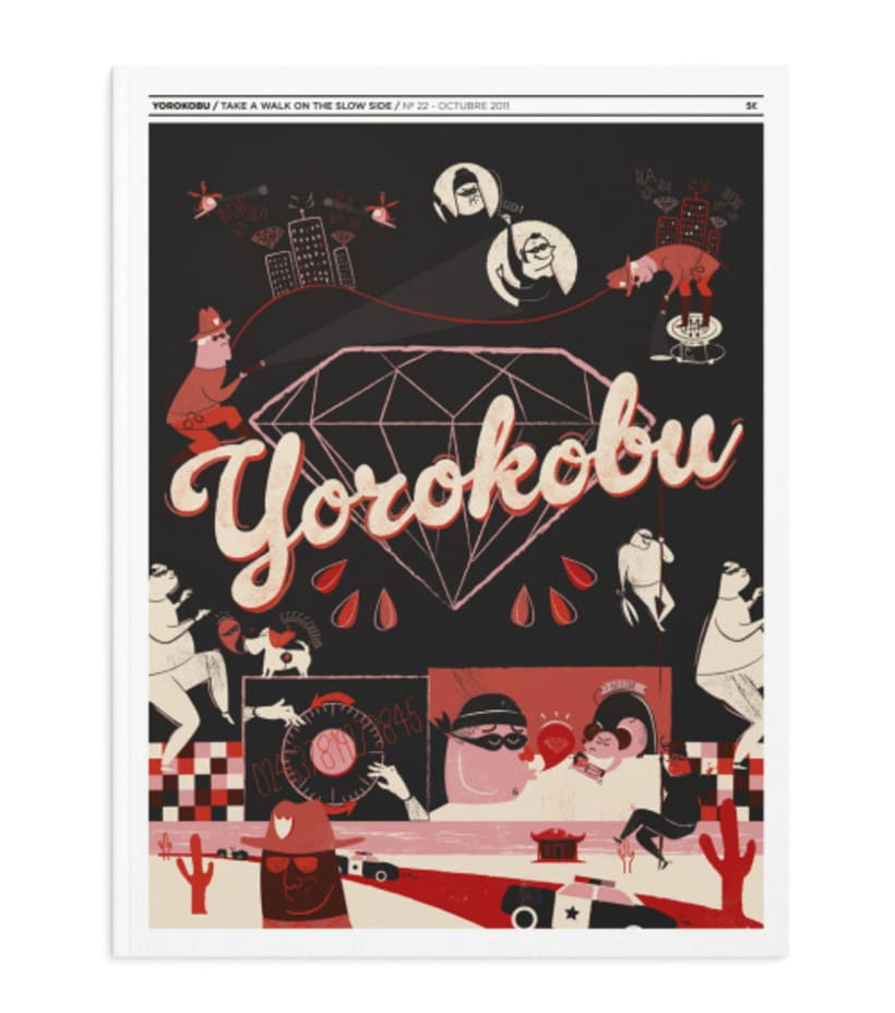 Yorokobu - portada oct'11 1