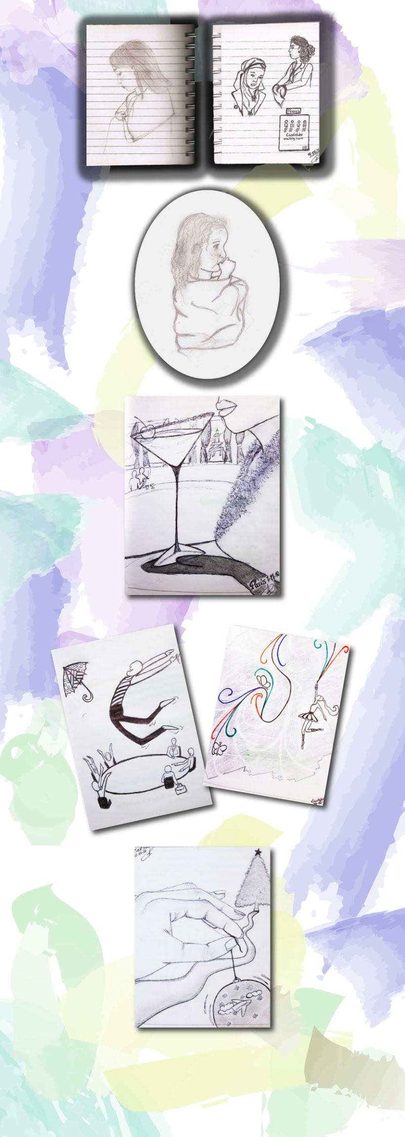 Sketches / Bocetos 2