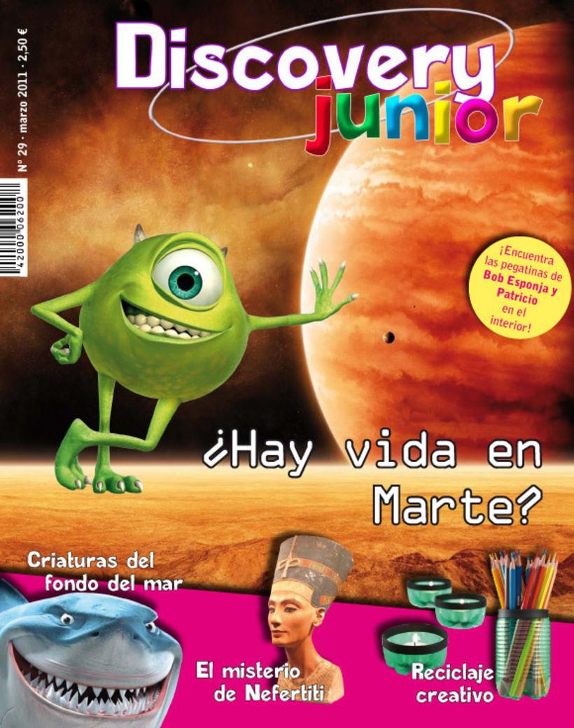 Proyecto maquetación de revista infantil 2