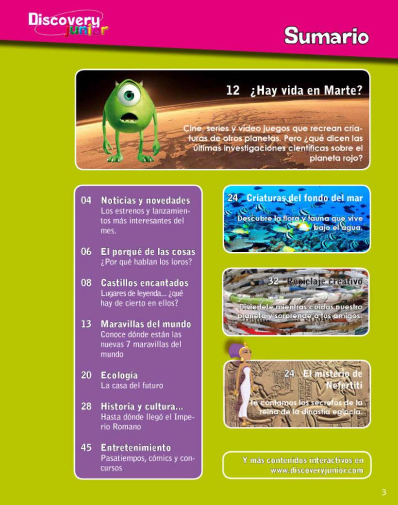 Proyecto maquetación de revista infantil 3