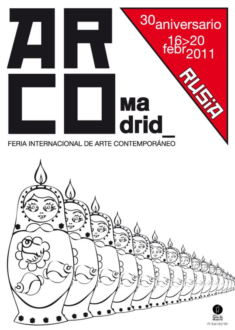 Proyecto cartel ARCO 2