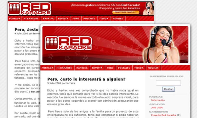 Red Karaoke (Web) 2