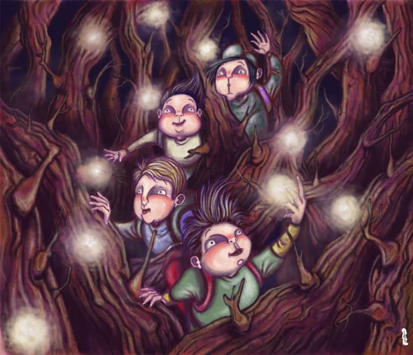 Ilustraciones fantásticas 1