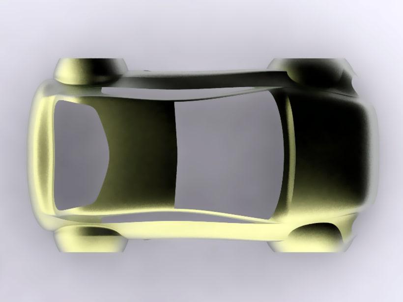 Modelado de carrocería coche 4
