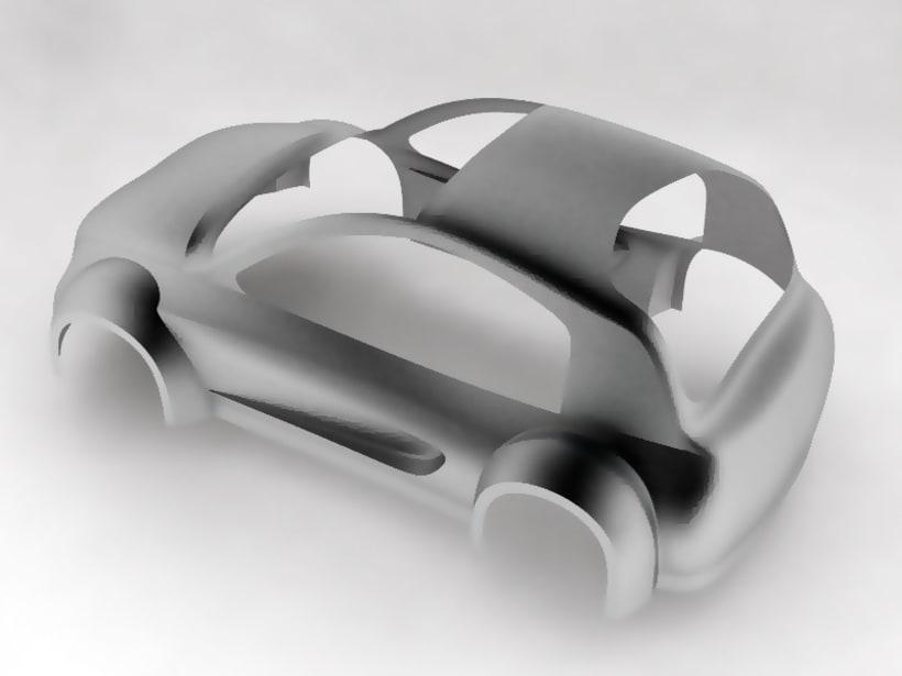 Modelado de carrocería coche 6