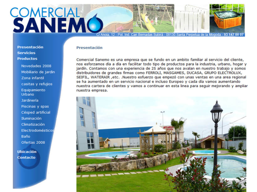 Comercial Sanemo 2