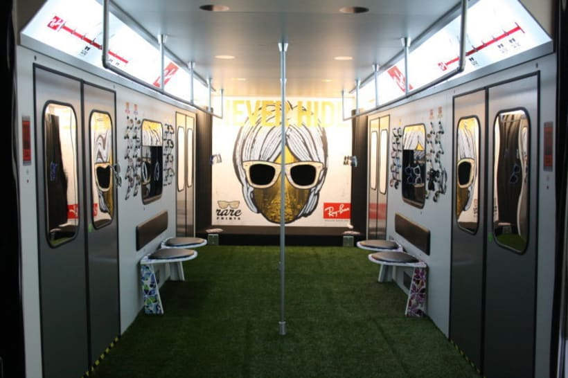 ray ban store  Ray Ban Station . Pop Up Store