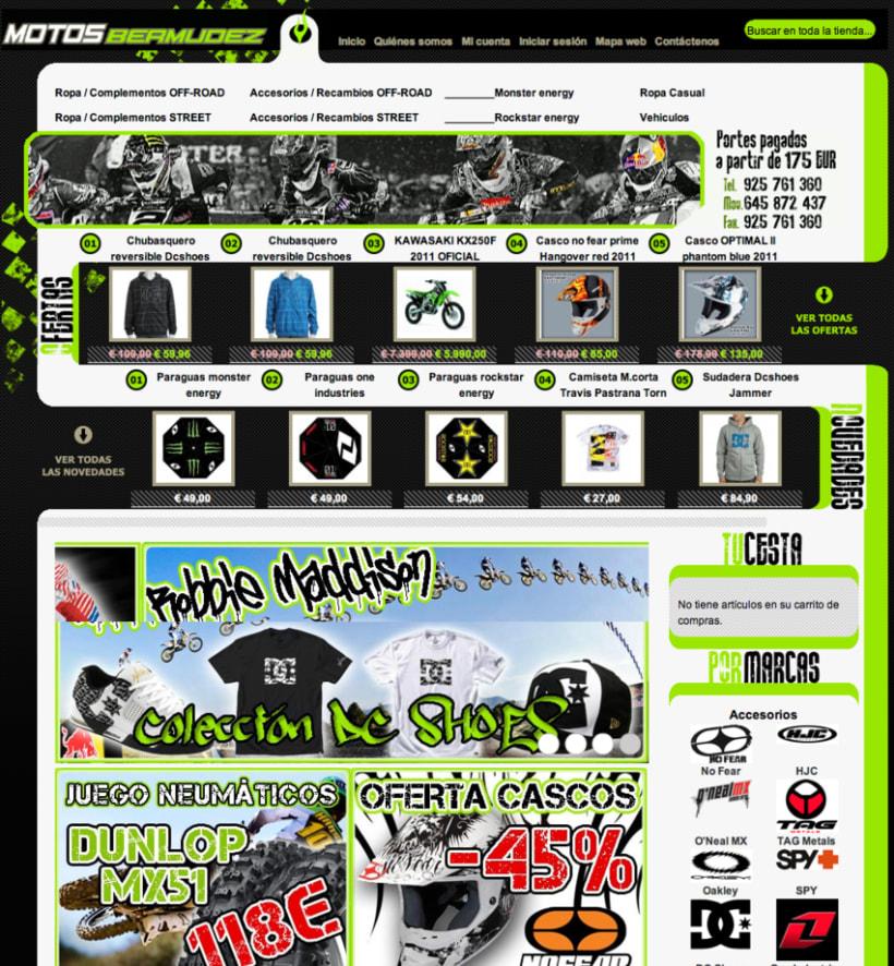 Tienda online Motos 2