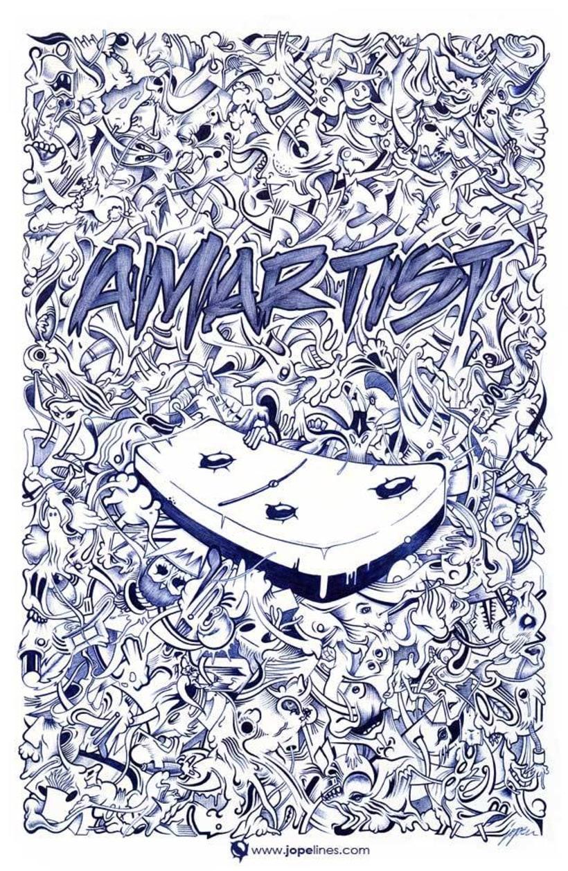 Portada Amartist Magazine. 3 1
