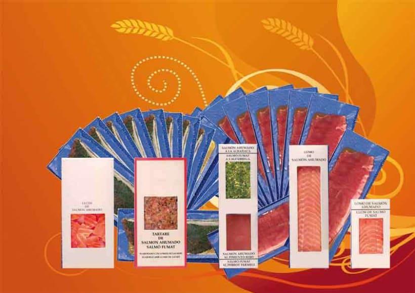 Carteles y presentaciones de productos  7