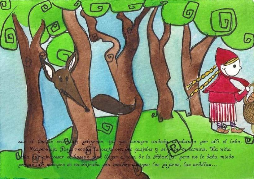 Ilustración   Caperucita Roja 4