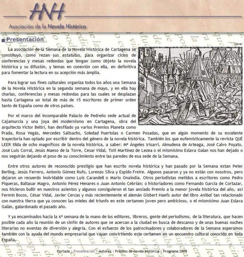 Web Novela Histórica 3