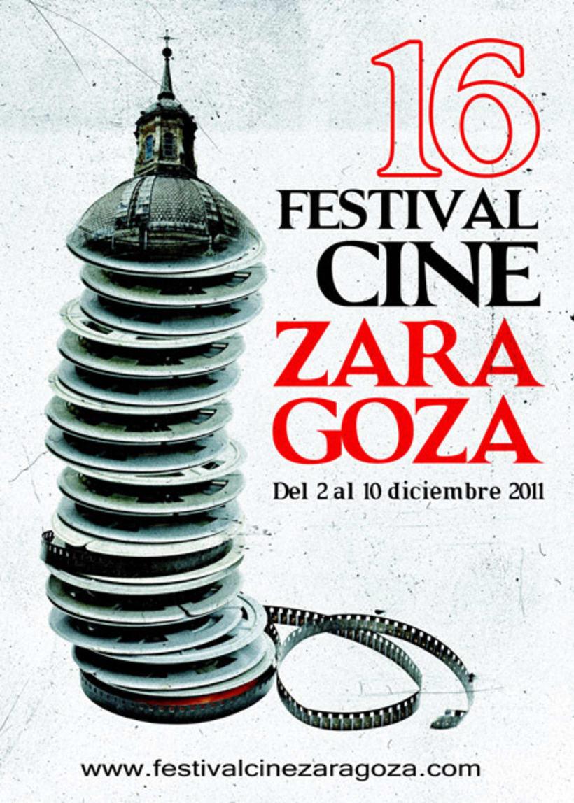 Propuesta cartel Festival de cine de ZARAGOZA 2