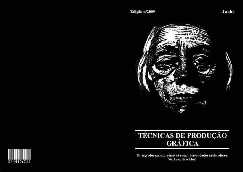 Diseño Editorial | Revista Informativa Técnicas de Producción Gráfica  1