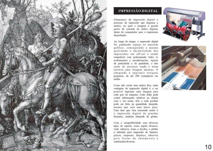 Diseño Editorial | Revista Informativa Técnicas de Producción Gráfica  2