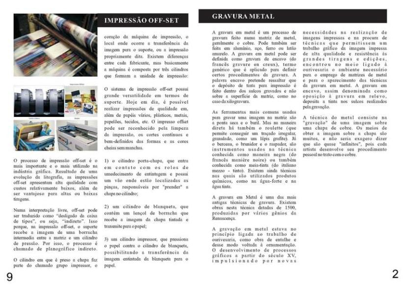 Diseño Editorial | Revista Informativa Técnicas de Producción Gráfica  3
