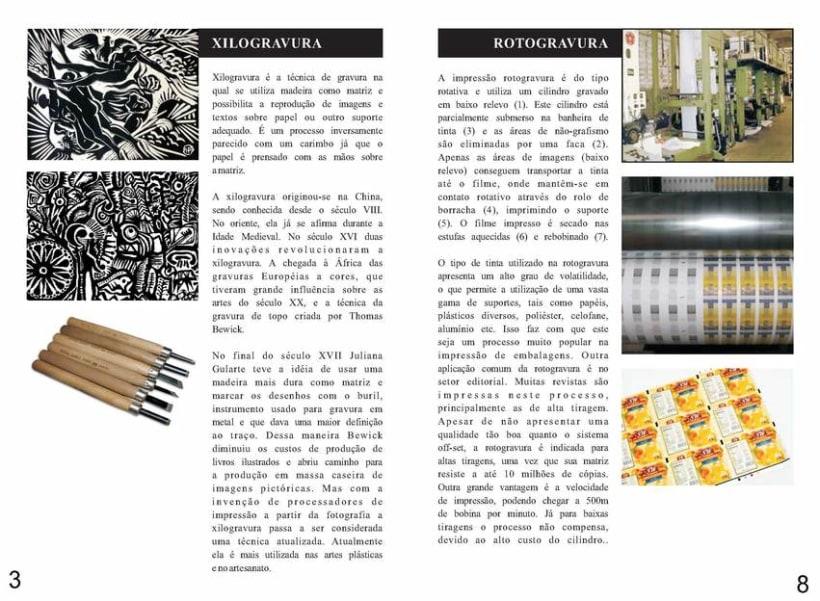 Diseño Editorial | Revista Informativa Técnicas de Producción Gráfica  4