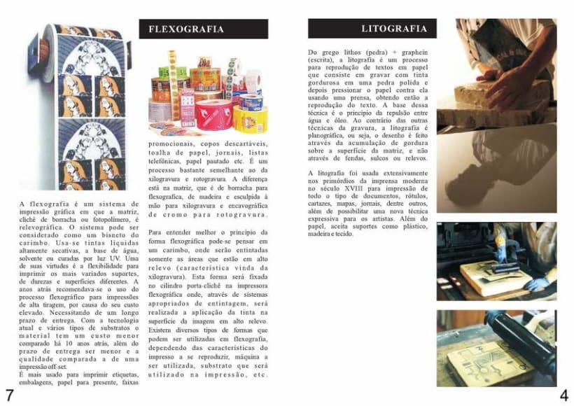 Diseño Editorial | Revista Informativa Técnicas de Producción Gráfica  5