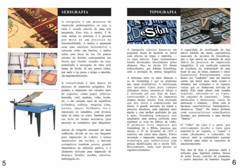 Diseño Editorial | Revista Informativa Técnicas de Producción Gráfica  6