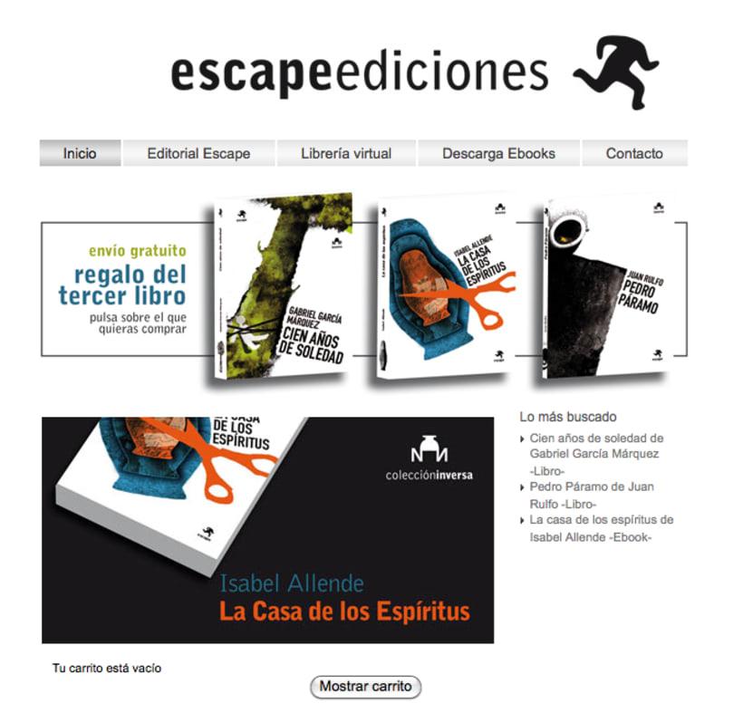 Imagen corporativa Escape Ediciones 6