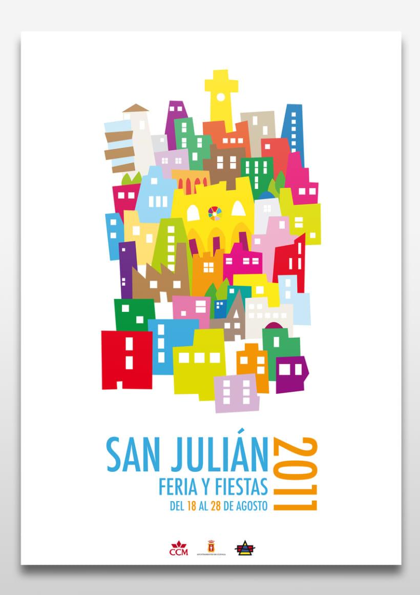 Cartel San Julián 2011 1