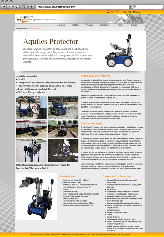 Web Aquiles Robotic 2