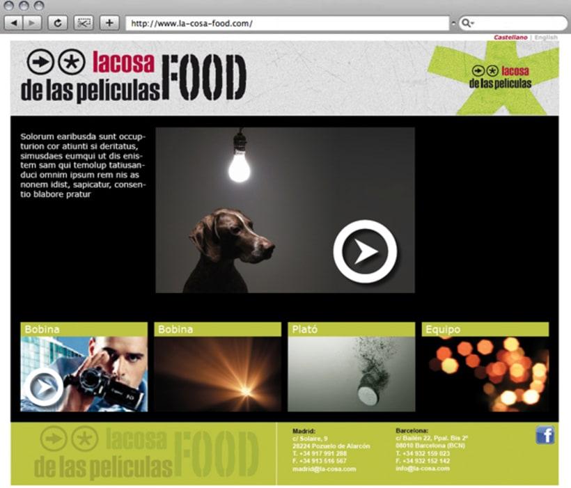 Web La cosa FOOD 3