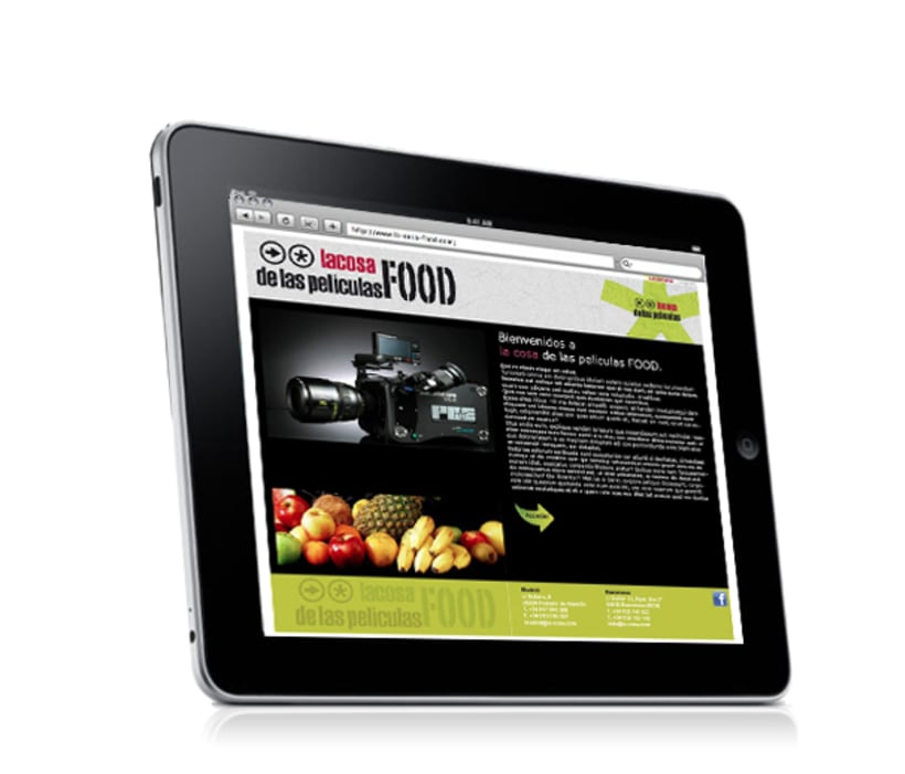 Web La cosa FOOD 2