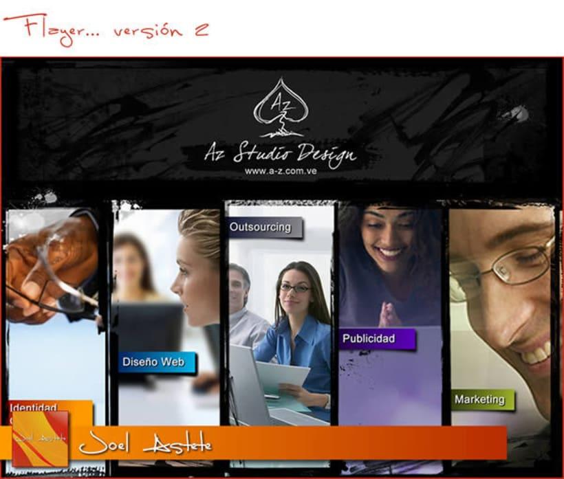 Az Studios Design (Flyers) 2