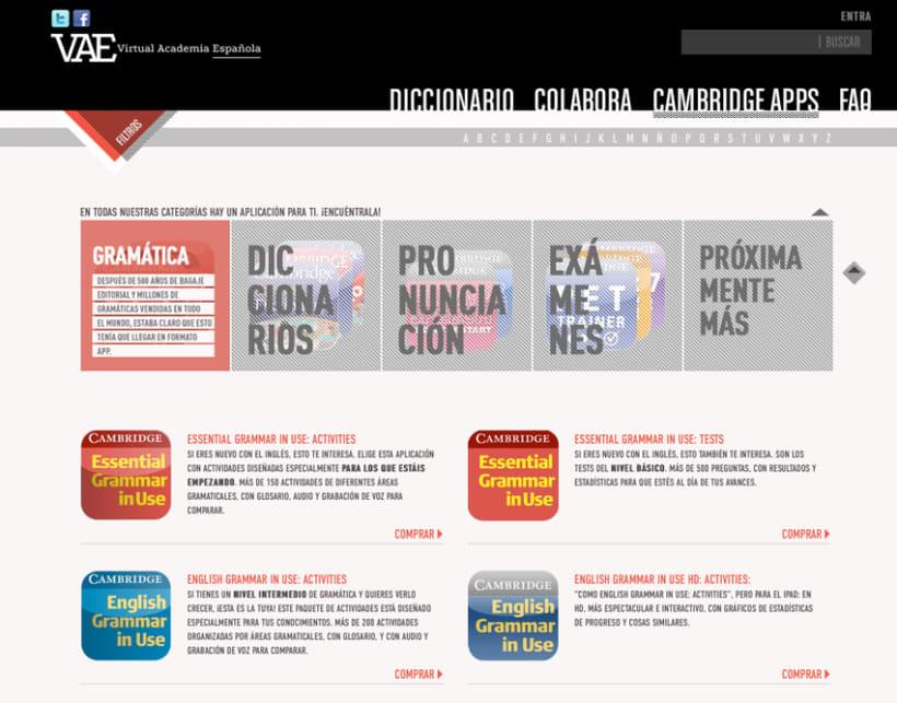 Virtual Academia de la Lengua Española 3