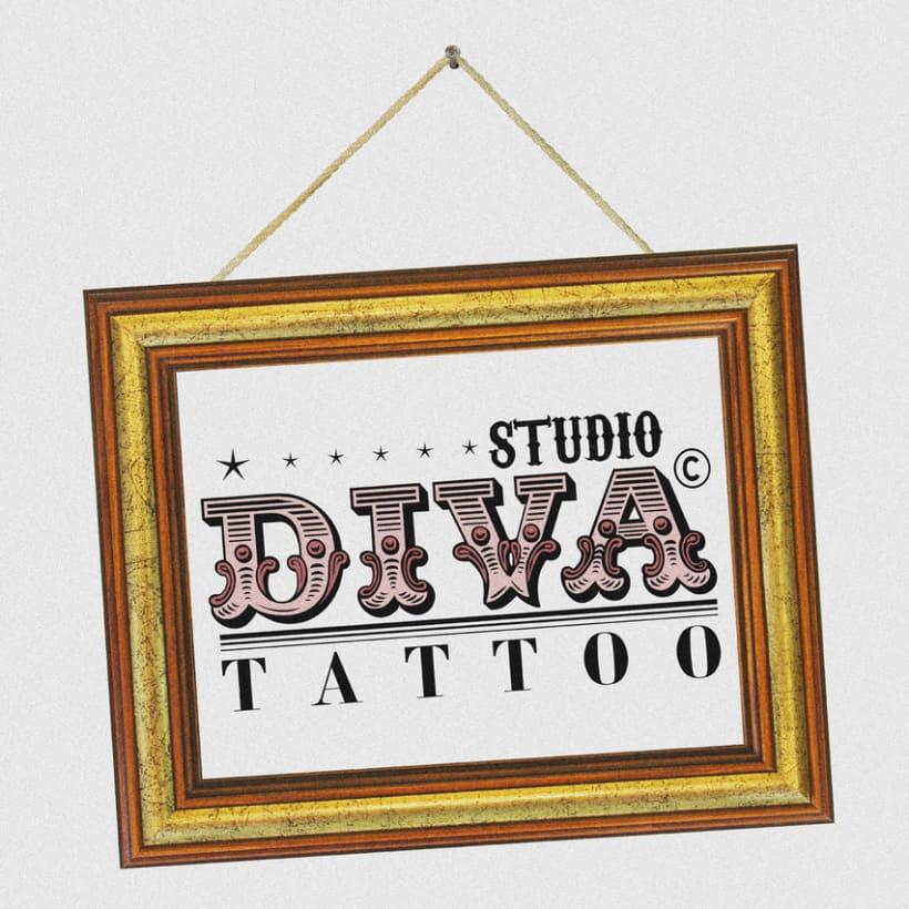 Diva Tattoo 7