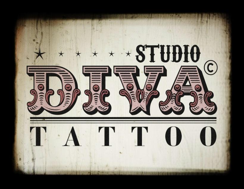 Diva Tattoo 1