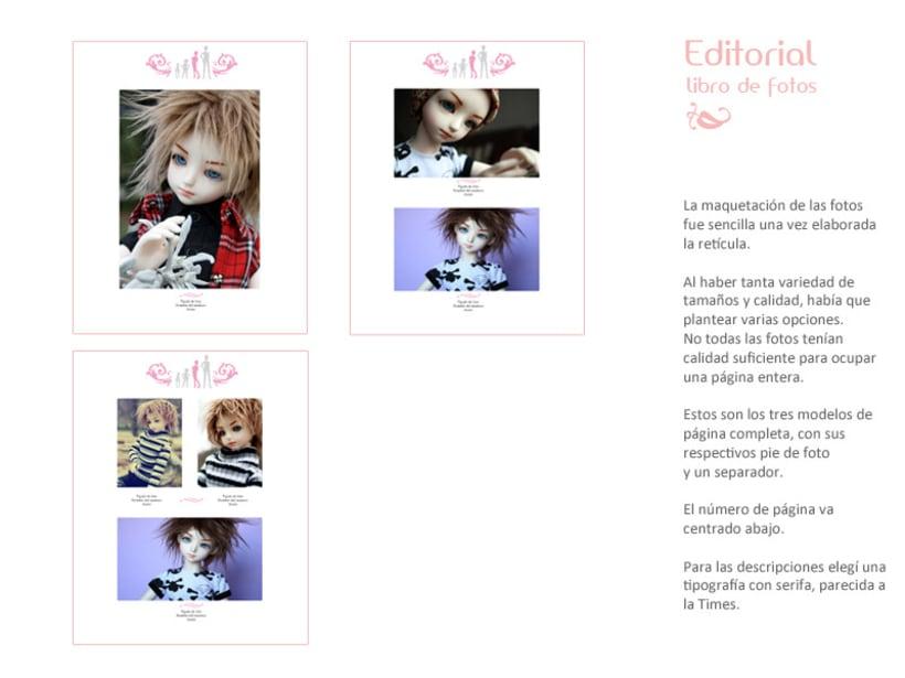 Maqueta y Diseño Libro de fotos 3