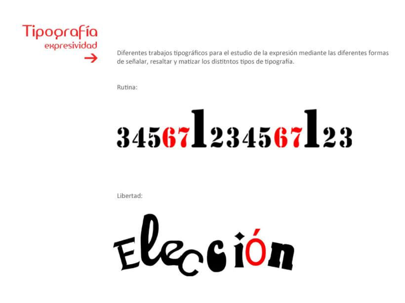 Expresión Tipográfica 1