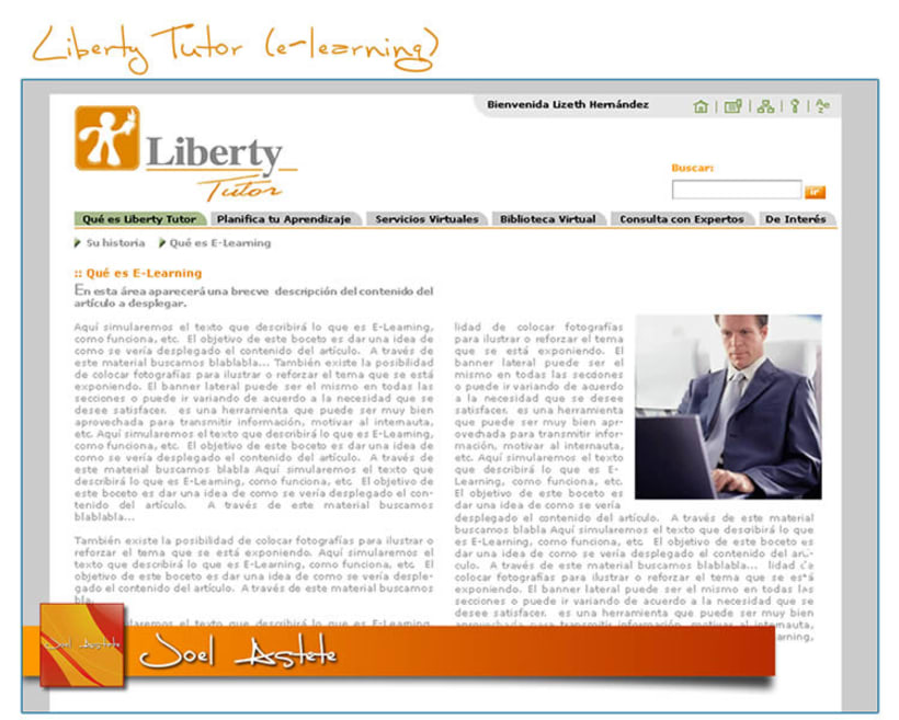 Liberty Tutor (Intranet propuesta) 2