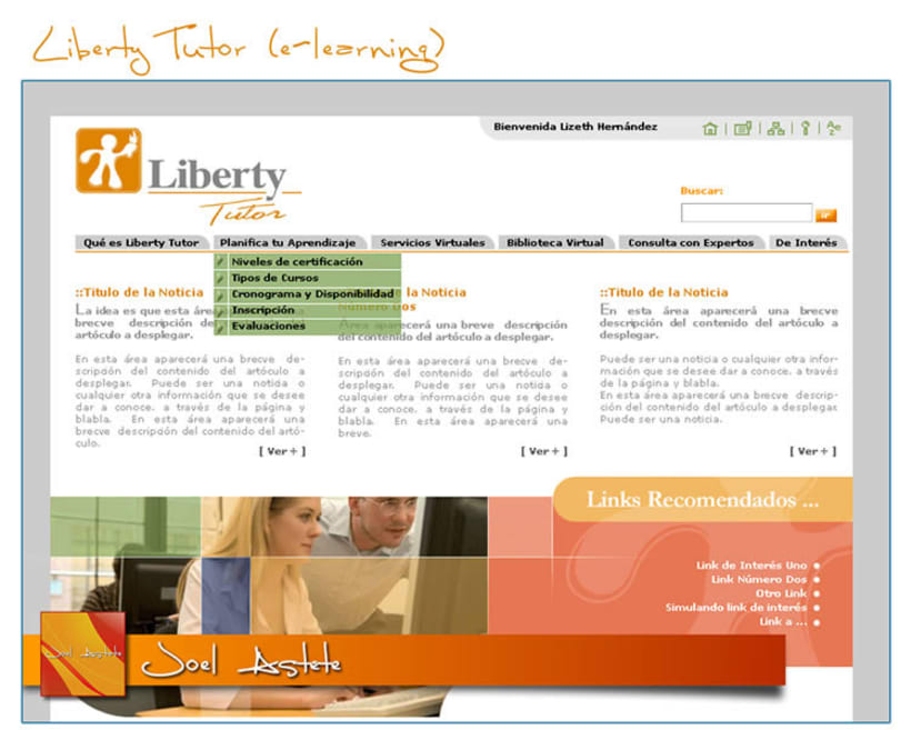 Liberty Tutor (Intranet propuesta) 3