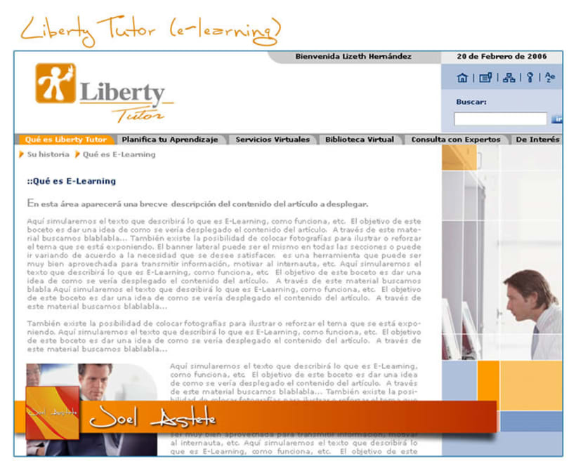 Liberty Tutor (Intranet propuesta) 5