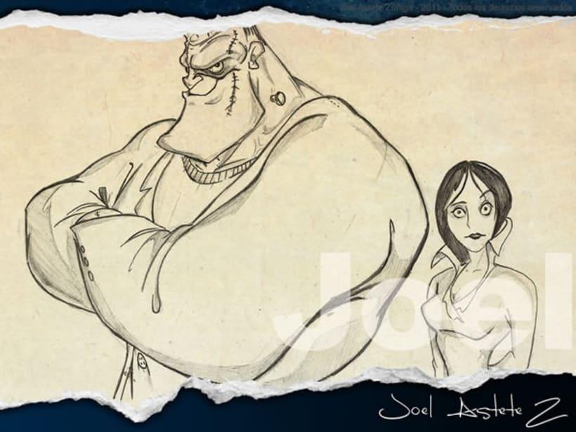 Dibujos y Bocetos 2