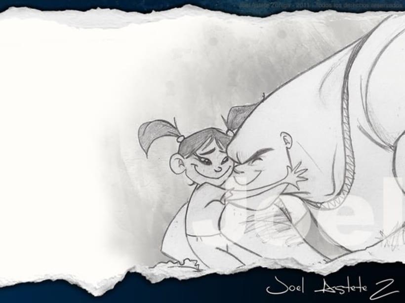 Dibujos y Bocetos 3