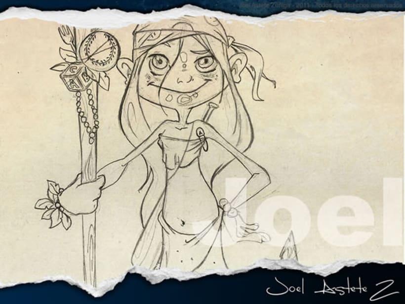 Dibujos y Bocetos 4
