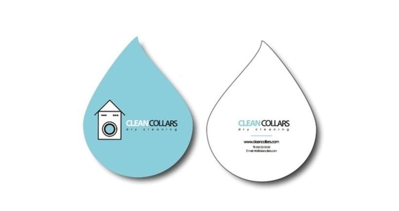 Logo y aplicaciones Clean Collars 3