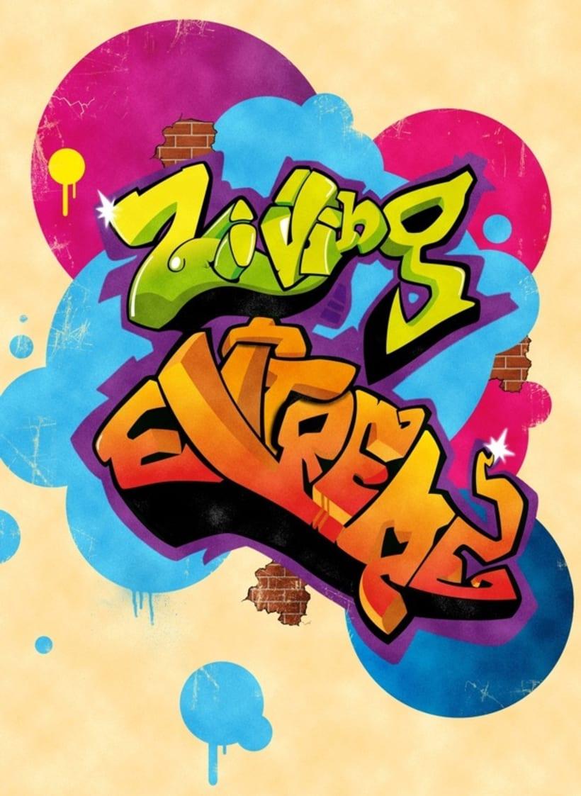 Ziving Grafitti 1