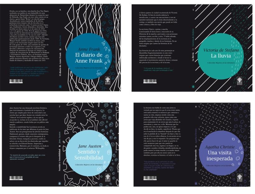 Colección de libros // Mujeres en la Literatura 2