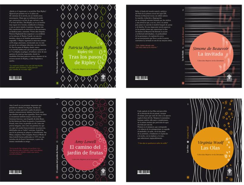 Colección de libros // Mujeres en la Literatura 1