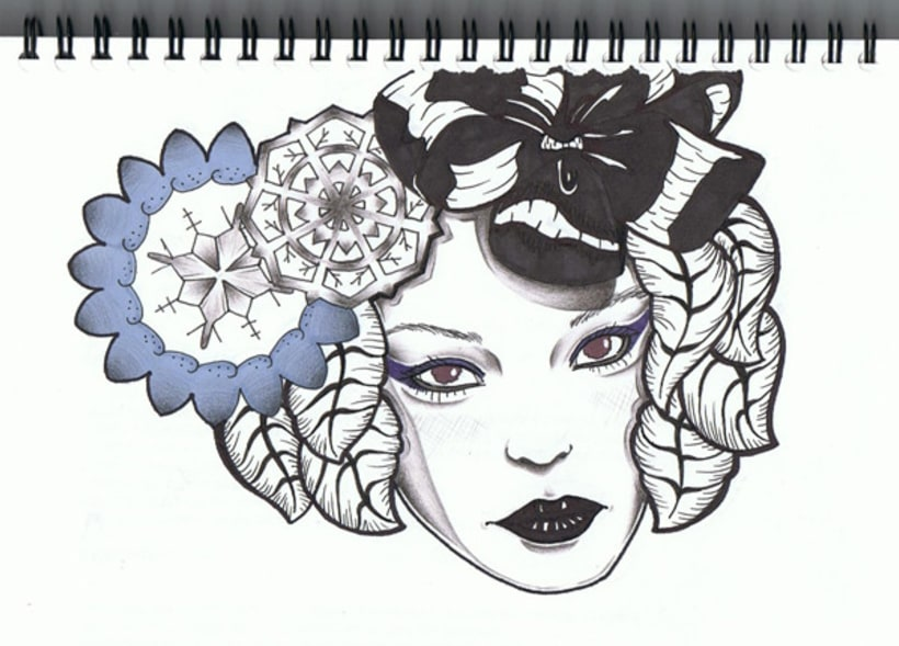Black & color 6