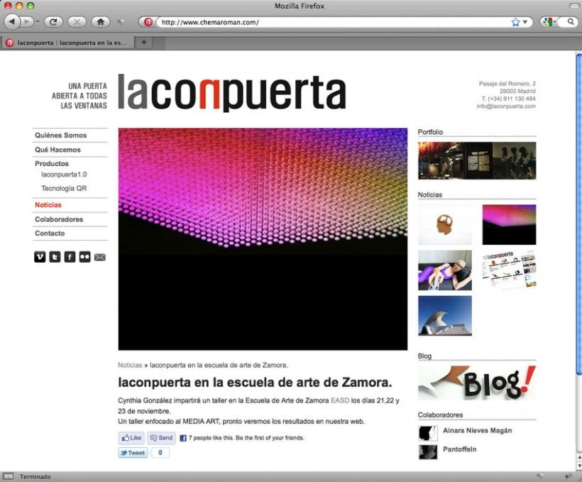 web Laconpuerta 2