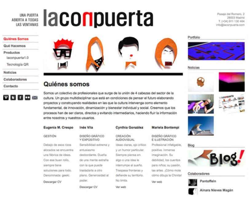 web Laconpuerta 1