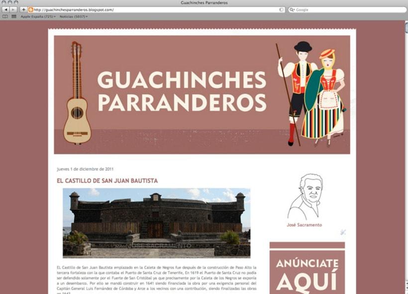 Rediseño del blog Guachinches Parranderos 1