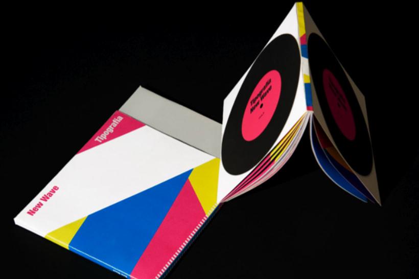 Catálogo de tipografía New Wave 3